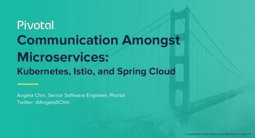 Communication Amongst Microservices: Kubernetes, Istio, and Spring Cloud with Angela Chin