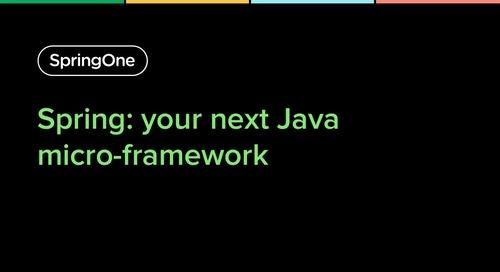 Spring: Your Next Java Micro-Framework