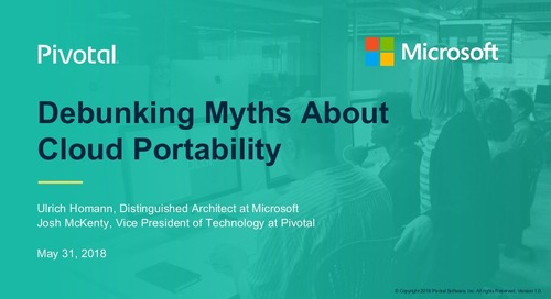 Debunking Myths About Cloud Portability