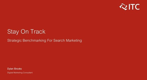 Stay on Track: Strategic Benchmarking for Search Marketing