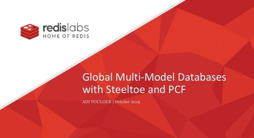 Turnkey Multi-Region, Active-Active Session Stores with Steeltoe, Redis Enterprise, and PAS