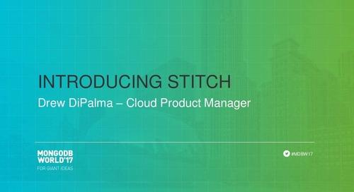 Introducing MongoDB Stitch
