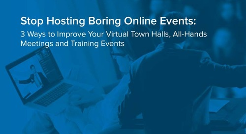 Stop Hosting Boring Online Events