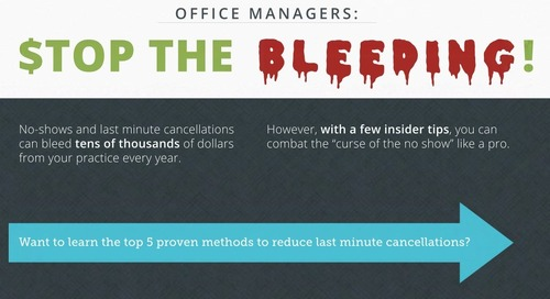 Stop The Bleeding: End Patient Cancellations With These Quick Tips