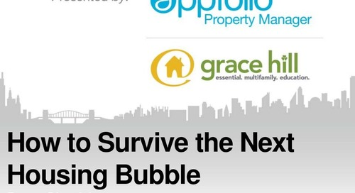 How to Survive the Next Housing Bubble Webinar with Doug Chasick (Property Management Industry)