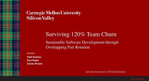 Surviving 120% Team Churn