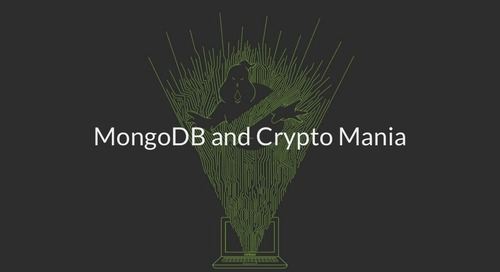 MongoDB World 2018: MongoDB and Crypto Mania