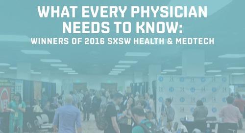Winners of 2016 SXSW Health & MedTech