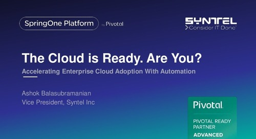 The Cloud is Ready. Are You? Accelerating Enterprise Cloud Adoption With Automation
