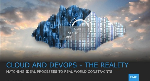 Pivotal Digital Transformation Forum: Cloud and Devops - The Reality