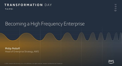 Becoming A High Frequency Enterprise