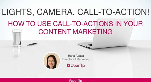 How To Use Call-To-Actions In Your Content Marketing