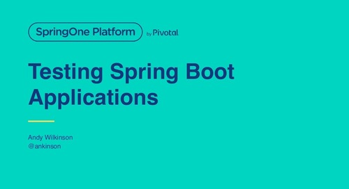 Testing Spring Boot Applications