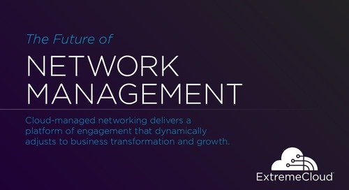 The Future of Network Management