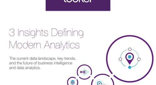 The 3 Insights Defining Modern Analytics