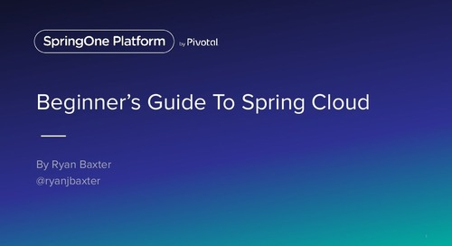 The Beginner's Guide To Spring Cloud