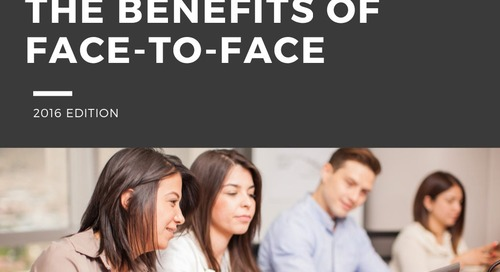 The Benefits of Face-to-Face Communication