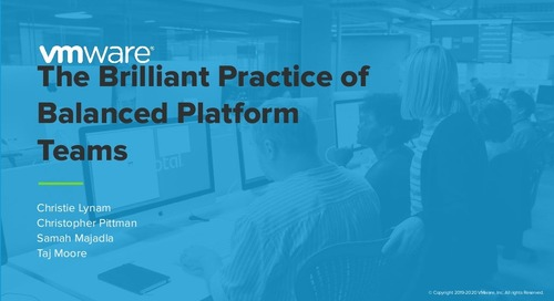 The Brilliant Practice of Balanced Platform Teams