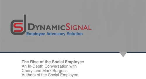 The Rise of the Social Employee