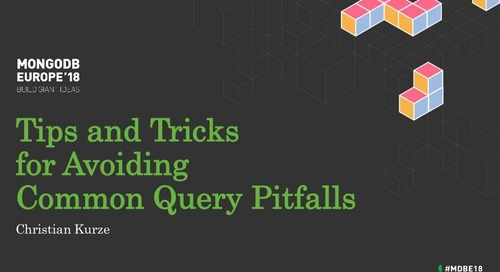 Tips and Tricks for Avoiding Common Query Pitfalls Christian Kurze