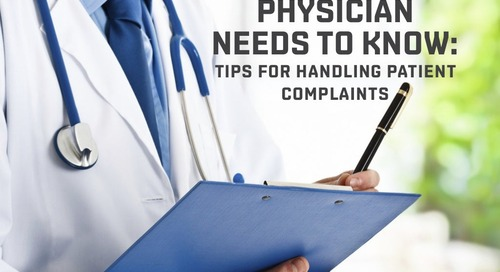 Tips for Handling Patient Complaints