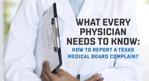 How to report a Texas Medical Board complaint