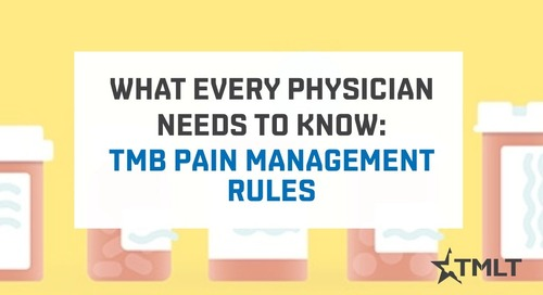 TMB pain management rules