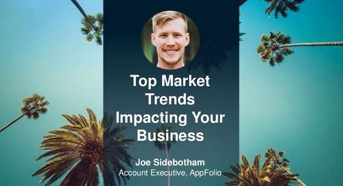 Top Market Trends Impacting Your Business - Webinar