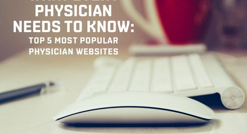 Top 5 physician websites