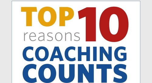 Top 10 Reasons Coaching Counts