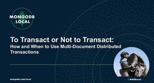 To Transact or Not to Transact