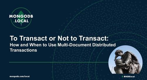 To Transact or Not to Transact