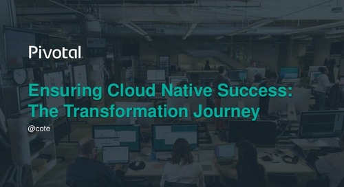 Ensuring Cloud-Native Success:  Organization Transformation