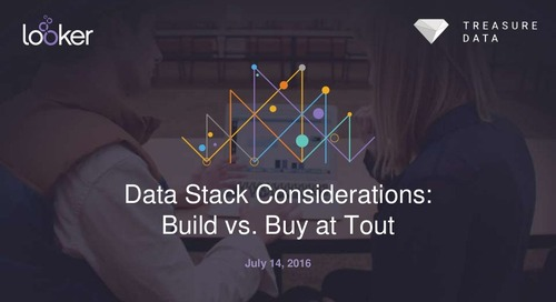 Data Stack Considerations: Build vs. Buy at Tout