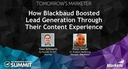 How Blackbaud Boosted Lead Generation Through Their Content Experience