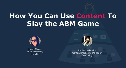 How You Can Use Content To Slay the ABM Game (FlipMyFunnel Festival)