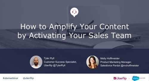 How to Amplify Content by Activating Your Sales Team