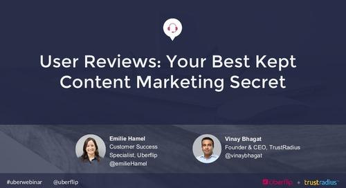 User Reviews: Your Best Kept Content Marketing Secret
