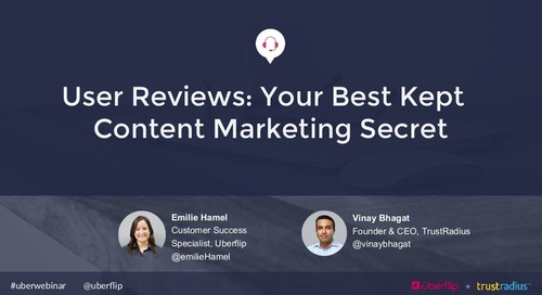User Reviews: Your Best Kept Content Marketing Secret