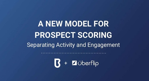 A New Model For Prospect Scoring: Separating Activity & Engagement