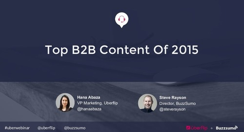 Breaking Down the Top B2B Content of 2015