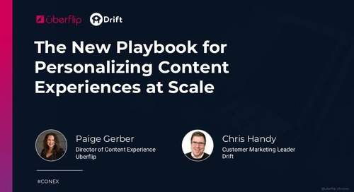 The New Playbook for Personalizing Content Experiences at Scale