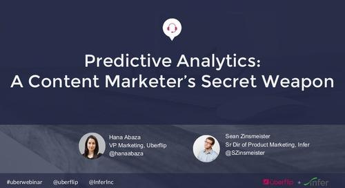 Predictive Analytics: A Content Marketer's Secret Weapon