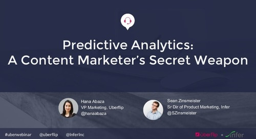 Predictive Analytics: A Content Marketer's Secret Weapon