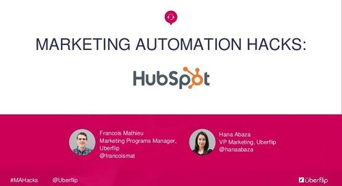 Marketing Automation Hacks: HubSpot
