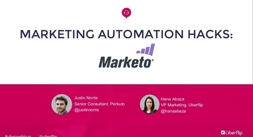Marketing Automation Hacks: Marketo