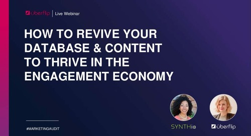 How to Revive Your Database and Content to Thrive in the Engagement Economy