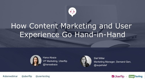How Content Marketing and User Experience Go Hand-in-Hand