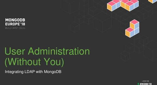 User administration without you - integrating LDAP