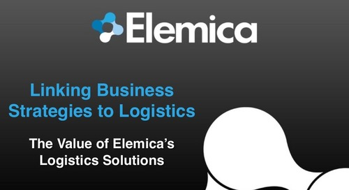 "reveal2014 Logistics Breakout – Cindi Hane, Elemica: ""Linking Business Strategies to Logistics"""